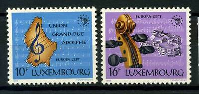 16-10-06065 - Luxembourg 1985 Mi.  1125-1126 MNH 100% CEPT Year of music