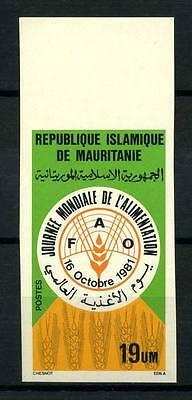 16-10-05401 - Mauritania 1981 Mi.  737 MNH 100% Imperf. World food day.
