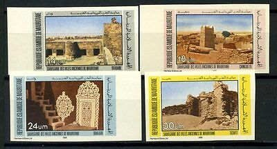 16-10-05431 - Mauritania 1983 Mi.  783-786 MNH 100% Imperf. Ancient cities.
