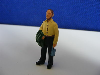 Male Tourist - 1:43 Painted Metal Model