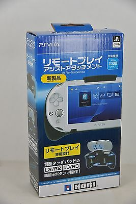 HORI PS Vita PSV 2000 Remote Play Assist Attachment Handle Grip (L2/L3/  R2/ R3)