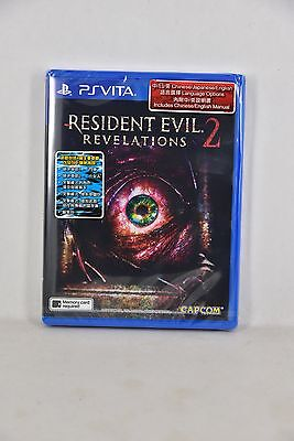 PSV PS Vita Biohazard Revelations 2 Resident Evil (PHYSICAL ENGLISH CHINESE)