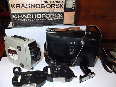RARE CINE camera Krasnogorsk-1 16mm in Original box