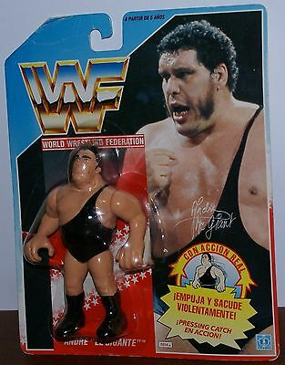 Hasbro WWF/WCW/WWE - Andre The Giant - MOC - TOP - Series 1