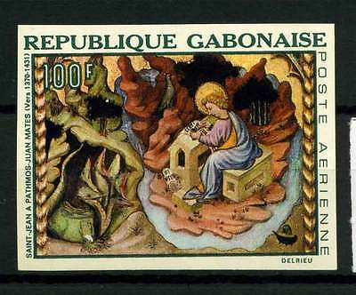 16-10-05875 - Gabon 1968 Mi.  303 MNH 100% Imperf. Painted. Art