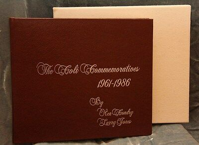 "Colt Firearms ""The Colt Commemoratives 1961.1986"" LeatherBound Signed Ken Condry"