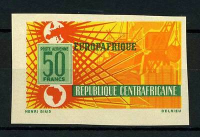 16-10-05678 - Central Africa 1964 Mi.  70 MNH 80% Imperf. Europafrique