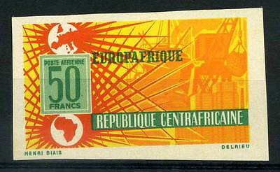16-10-05680 - Central Africa 1964 Mi.  70 MNH 80% Imperf. ''EUROPAFRIQUE''
