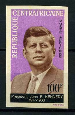 16-10-05675 - Central Africa 1964 Mi.  63 MNH 80% Imperf. President J. Kennedy