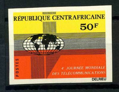 16-10-05617 - Central Africa 1972 Mi.  264 MNH 100% Imperf. Telecommunications