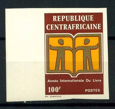 16-10-05597 - Central Africa 1972 Mi.  261 MNH 100% Imperf. Year of the book