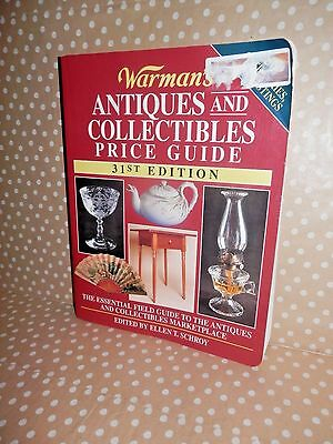 *** KRAUSE Books *** Warman's Antiques & Collectibles Price ID Guide 31st Ed.