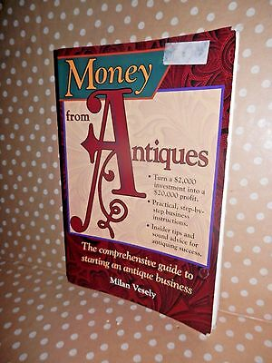 ** Krause Books  ** MONEY FROM ANTIQUES Starting a Business  ID & PRICE Guide