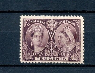 Ten cent Jubilee VF centering no gum Cat $160 as used Canada