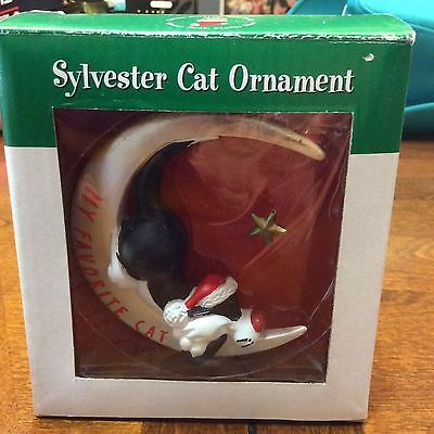Sylvester The Cat Looney Tunes Christmas Ornament
