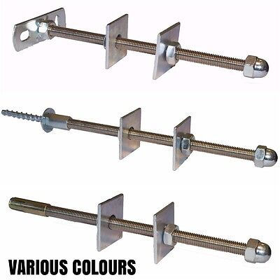 Cast Iron Radiator WALL STAY / BRACKET / TIE - VARIOUS COLOURS AND FIXINGS