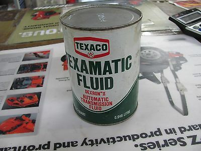 1970s Texaco Texamatic Automatic Transmission Fluid