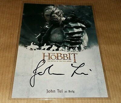 The Hobbit Battle Of Five Armies: John Tui as Boig JT.