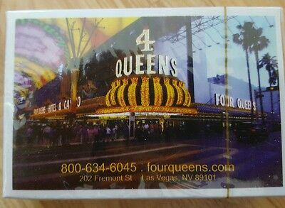 4 Queens Las Vegas Playing Cards NIP Collectible
