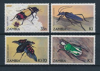 [51201] Zambia 1986 Insects Insekten Insectes Beetles MNH