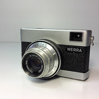 Vintage WERRA 1 35mm Camera With Zeiss Lens