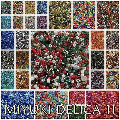 Delica 11/0 MIX Miyuki Japanese Glass Seed Beads #MIX01-MIX45 NEW!!!