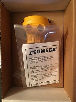 "New In Box Omega FMG3002-PP Current MagMeter, 0.5-4"" 316SS"