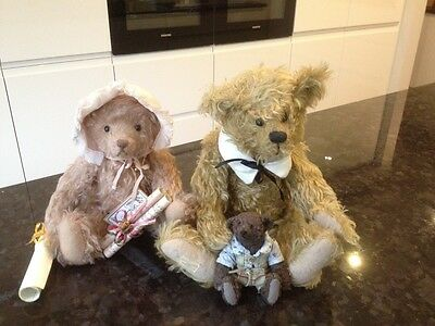 Collection of Three Collectable Artist Bears