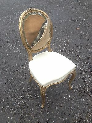 French Louis Style Bedroom Boudoir Chair