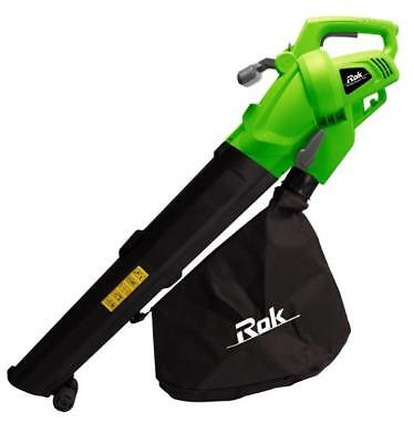 Blower ROK 2400w Electric Blower Vac With 40L Collection Bag