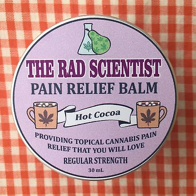 Hot Cocoa Pain Relief Balm