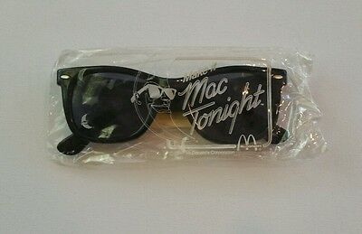 McDonalds 1987 Mac Tonight Real Sunglasses - Not a Toy -  Mint in Package
