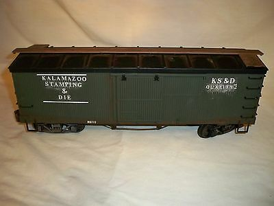 Delton Box Car  G-Scale Weathered