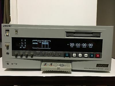 SONY DSR80 DVCAM Video Cassette Works Great See Photos
