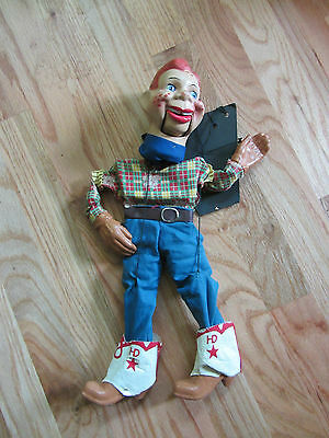 Nice Vintage 1950S 50S Howdy Doody Composition Marionette Puppet Rare N/r