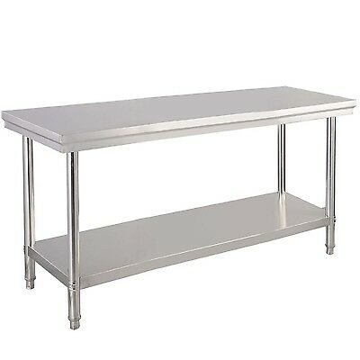 "Stainless Steel Commercial Kitchen Work Food Prep Table - 24"" x 48"" Pickup Only"