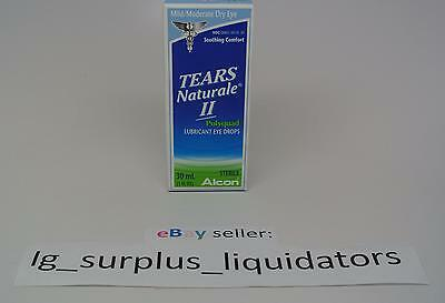 Alcon Tears Naturale II Eye Drops - 1 oz / 30 mL - Mild to Moderate - Exp 1/2017