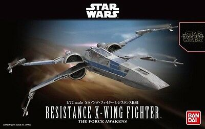 1/72 Star Wars Resistance X Wing Model Kit by Bandai