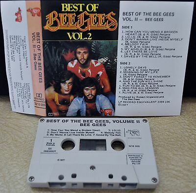Best Of Bee Gees- Vol 2-   *cassette Tape*