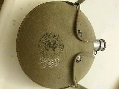 Vintage BOY SCOUTS OF AMERICA (National Council) Canteen Aluminum W/Canvas Pouch