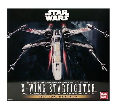 1/48 Star Wars X Wing Moving Edition Model Kit by Bandai Made in Japan