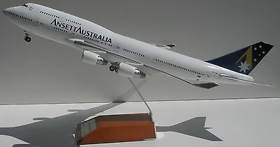 1/200 JC Wings Ansett Boeing 747-400 final livery VH-ANB- DIECAST METAL.