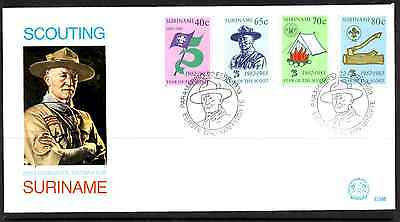Suriname 1983 Fdc – Scouting #a0168