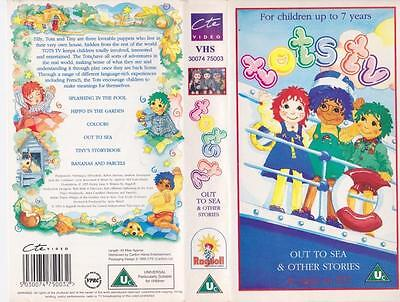 Tots Tv Out To Sea   Vhs Video Pal~A Rare Find