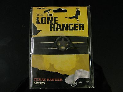 The Lone Ranger Wrap Bracelet Texas Ranger - Johnny Depp
