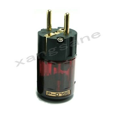 Oyaide DC-2.1G 24K Gold Plated DC Power Plug Connector for Hi-End Audio Grade