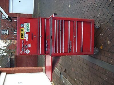 snap on tool box roll cab with shelf