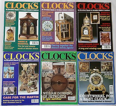 CLOCKS MAGAZINES -  2001 - Twelve copies - Jan to Dec.