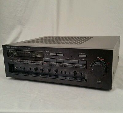 Yamaha R-8 Natural Sound Receiver 85 Watts (1987) Serviced Sounds Great
