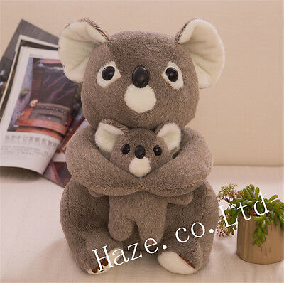 Mother and Son Koala Bear Stuffed Animal Plush Soft Toy Kid Doll 12""